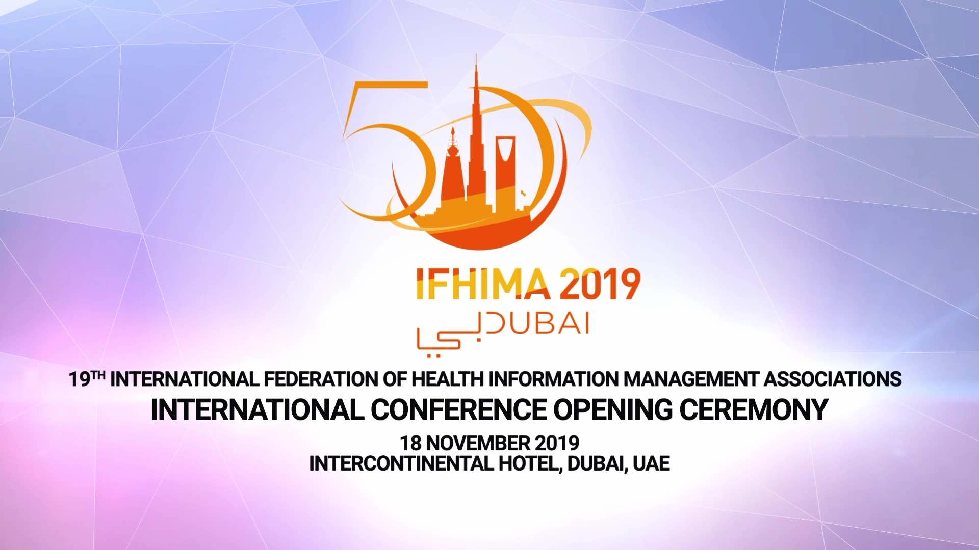 19th IFHIMA International Congress 2019
