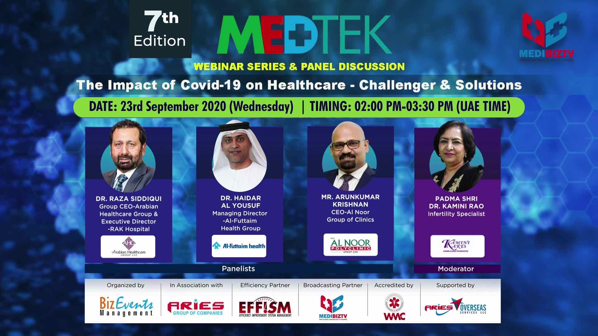 7th Edition MEDTEK_Webinar Series & Panel Discussion