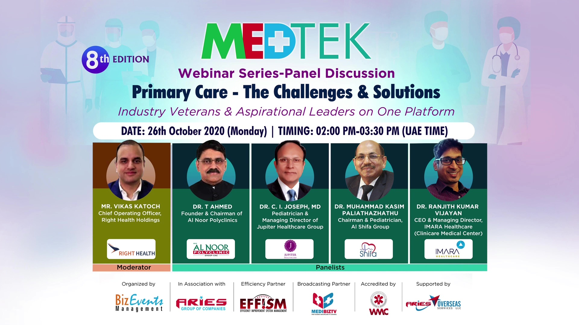 8th Edition MEDTEK_Webinar Series & Panel Discussion