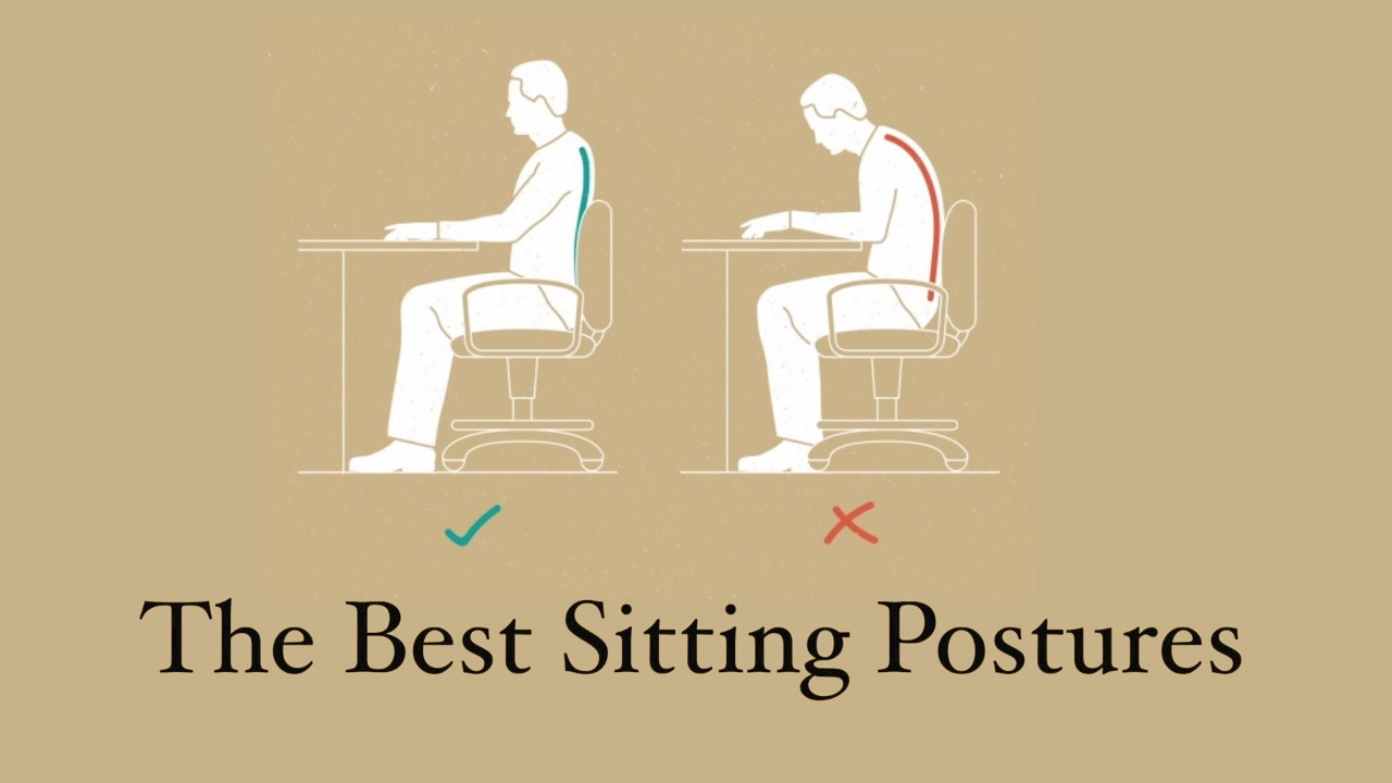 The Best Sitting Postures