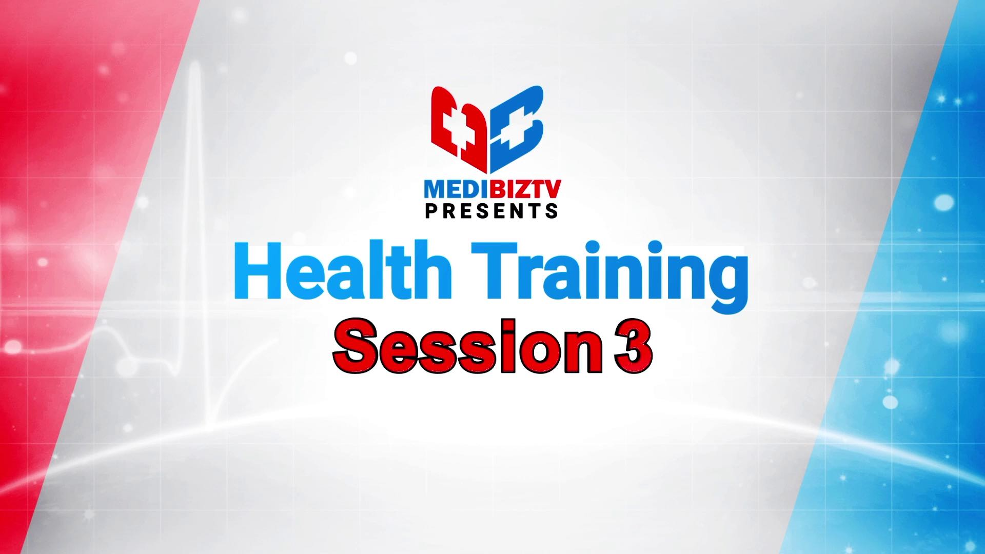 Health Training Session 03_Part-01