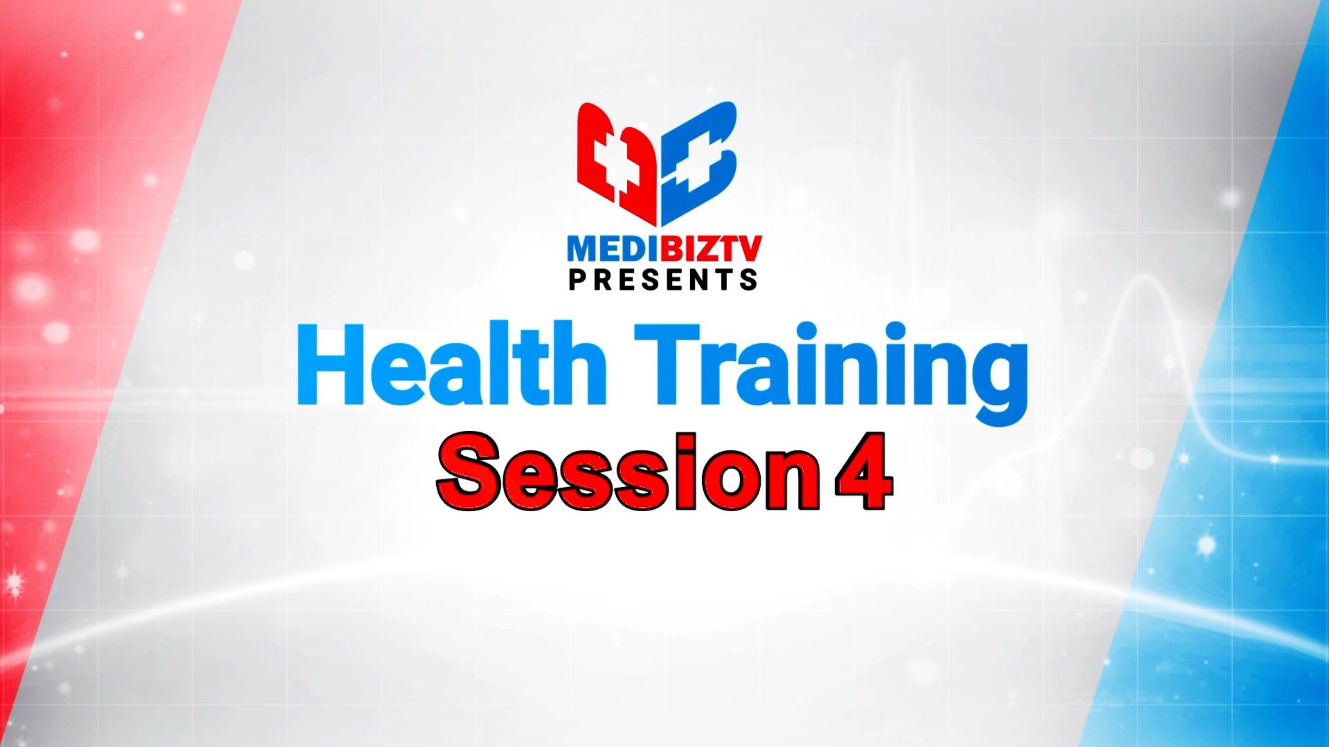 Health Training Session 04_Part-01