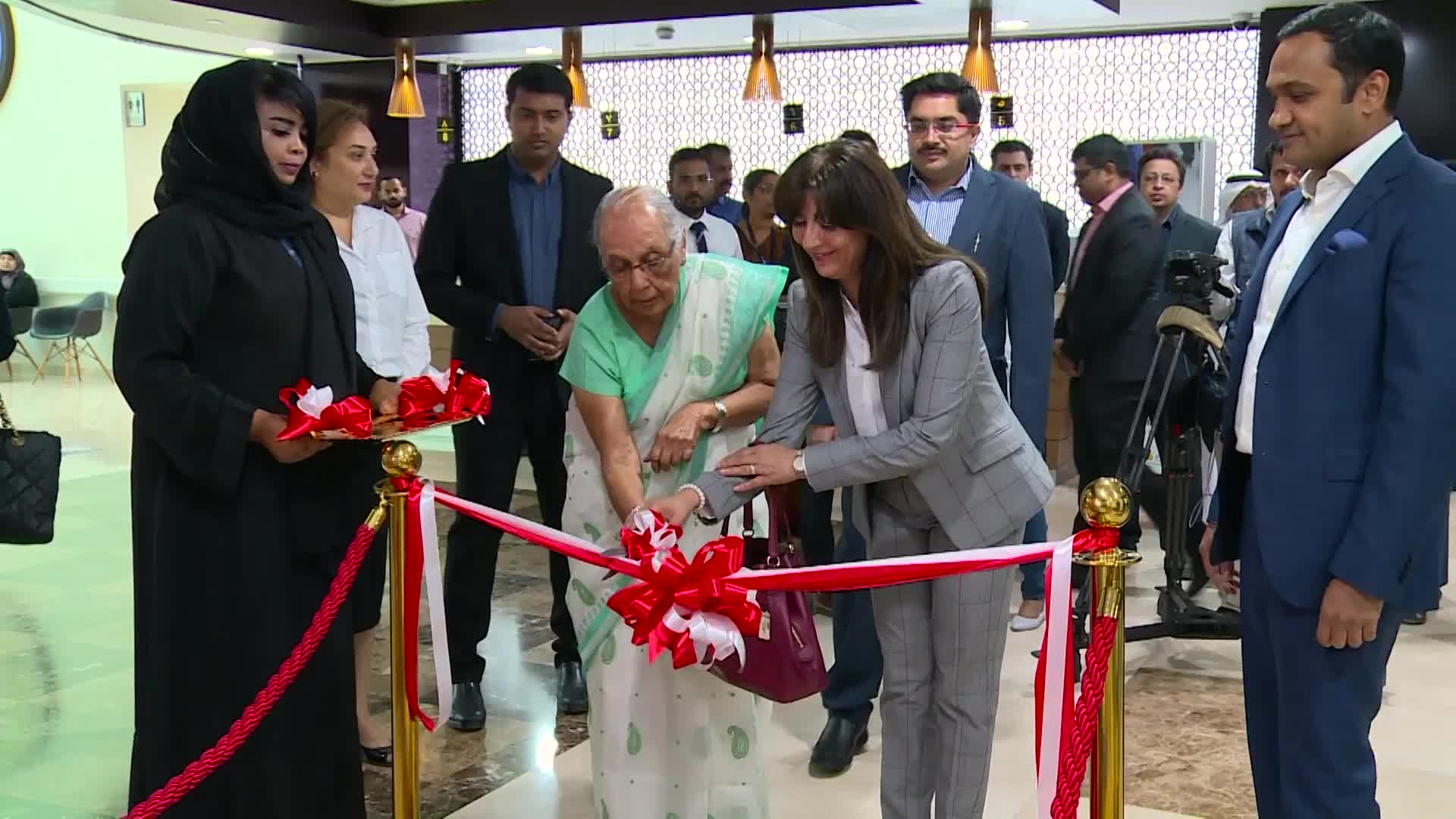 Zulekha Hospital_Inauguration of Exclusive Healthcare Kiosk For Medical Tourist